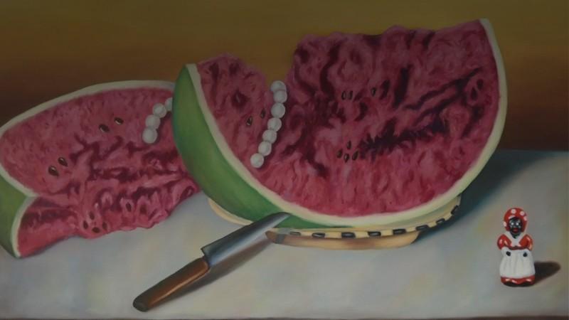 Split Watermelon Mamie
